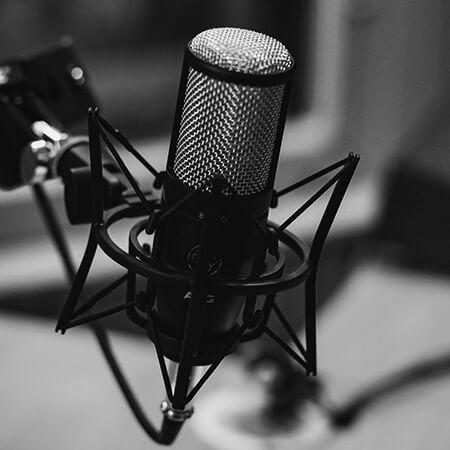 illustration photo microphone